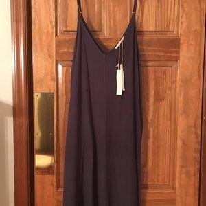 Love Stitch Gauze Maxi Dress w/pockets. NWT